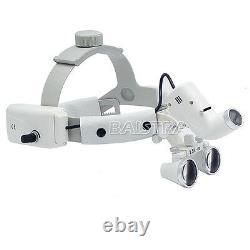 Bandeau Médical Chirurgical Dentaire Type Loupes Binoculaires 3.5x Avec Lumière Led 5w