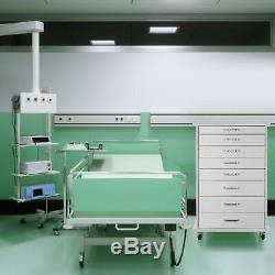Cabinet Mobile Assistant Dentaire Alabama Medical Cart Avec Frein 7 Tiroirs