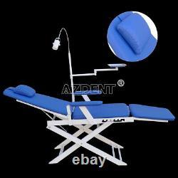 Chaise De Thérapie Pliante Portable De Médecine Dentaire Avec Lumière Led Rechargeable Gmc004