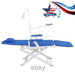 Chaise De Thérapie Pliante Portative Médicale Dentaire Avec La Lumière Rechargeable De Led Gmc004