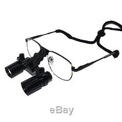 Chirurgie Dentaire 4 X 360-460mm Loupes Médicale Lunettes Binoculaires Dentiste Loupe