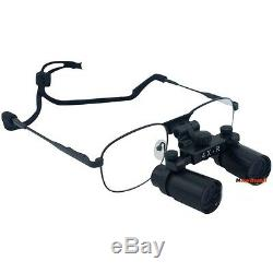 Chirurgie Dentaire 4 X Lunettes Loupes Binoculaires Médicale Dentiste Loupe 360-460mm