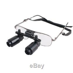 Chirurgie Dentaire 4x Loupes Binoculaires Médical Lunettes Dentiste Loupe 300-500mm