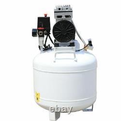Compresseur D'air Médical Dentaire Portable Silent Noiseless Oilless Oilless 8psi Us