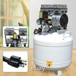 Compresseur D'air Sans Huile Sans Bruit Médical 40l 750w Pour Chaise De Laboratoire Dentaire