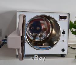 Dentaire 18l Médicale Autoclaves Vapeur Sous Vide Stérilisateur 110v Lk-d14 Lab Euipment