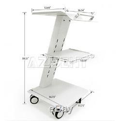 Dentaire Médical Intégré Socket Outil Mobile Panier Instrument Métal Chariot 100-240