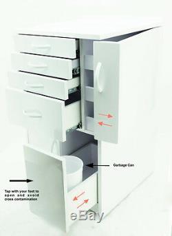 Dentaire Medical Mobile Cabinet Panier Multifonctionnelles Avec Tiroirs Wheels Petit