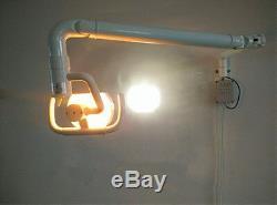 Dentaire Mural Lumière Halogène 50w Chirurgical Médical Shadowless Léger Avec Bras