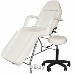 Dentaire Portable Nouveau Réglable Medical Chaise Withstool Combinaison Blanc