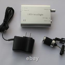 Dental 2w Portable Led Headlight Lampe De Phare Medical Surgical Loupes Clip-on