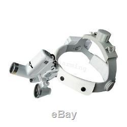 Dental 3.5x -420 Bandeau Médical Loupes Binoculaires Loupe + Led Phare Fda