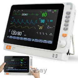 Dental Medical 10 Patient Monitor Icu Ccu Vital Sign Ecg Machine Multi-fonction