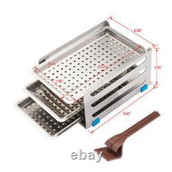 Dental Medical 18l Autoclave Stérilisateur Aspirateur Vapeur Stérilisation Automatiquement