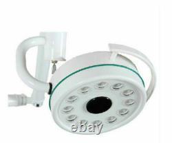 Dental Medical 36w Led Plafond Monté Examen Lumière Froide Lampe Sans Ombre 800mm Us