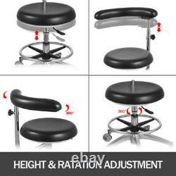 Dental Medical Doctor Assistant Stool Mobile Chair Réglable Pu Cuir