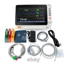 Dental Medical Patient Monitor Icu Ccu Vital Sign Multi Parameter Ecg Surveillance