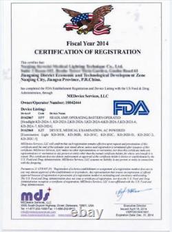 Dental Mobile Halogen Exam Light Surgical Medical Examination Lampe Kd-201b-1