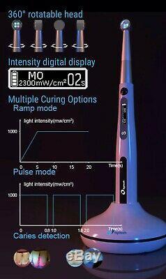 Eigtheeth Dentaire Médicale Durcissement Pen 4 Leds Photopolymérisation Caries Detector
