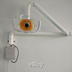 Éponte Dentaire Lampe Orale Chirurgicale Médicale Shadowless Lumière Froide Avec Bras