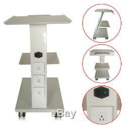 Équipement Dentaire Médicale 3 Couches Panier Chariot Tout Usage Traitement Clinique Chambre