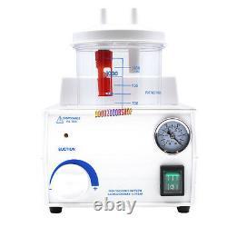 Fda Ce Portable Dental Medical Emergency Vacuum Phlegm Suction Unit Électrique