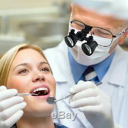 Grossissement 2,5x En Alliage De Nickel Cadre Chirurgie Dentaire Médical Loupes Binoculaires