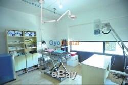 Installation Au Plafond Led Chirurgie Dentaire Lumière Examen Médical Operatory Lampe Shadowless