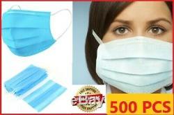 Jetable Masque Visage 500pc Masques Preuve Cosmétique Dentaire Médicale Poussière