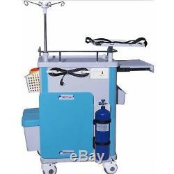 Laboratoire Dentaire De Roulement D'urgence Médicale Chariot Chariot Mobile Salle D'opération Chariot