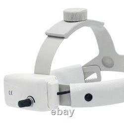 Lampe De Phares Dentaires Chirurgicaux À Led Médical Phare 5 Watt Réglable Avec Kit Loupes