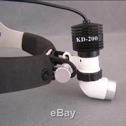 Led Haute Puissance 5w Médical Phare Chirurgical Dentaire Phares Kd-202a-6 + Adaptateur