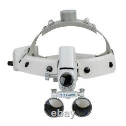 Led Us Bandeau Chirurgie Dentaire Médical Loupes Binoculaires Loupe (3,5-r)