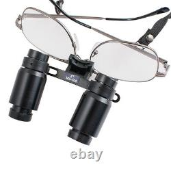Loupes Dentaires 4x R (300-500mm) Réglable 4.0x Dentiste Binoculaire Médical Chirurgical