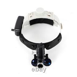 Loupes Jumelles Chirurgicales Médicales Dentaires 3.5x420mm Phare Optique De Loupe De Verre