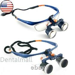 Loupes Jumelles Dentaires Médicales Américaines Galileo Frame Magnifier 2.5 X /3.5 X 420mm