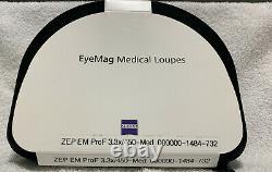 Loupes Jumelles Médicales Dentaires Zeiss Eyemag, Neuves (4.0x/500mm Ou 3.3x/450mm)