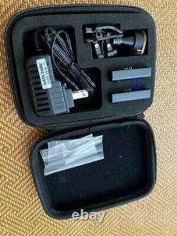 Loupes Médicales Dentaires Sans Fil Led Light (sans Fil) Avec 2 Batteries, Testé
