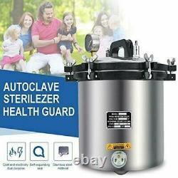 Machine Médicale 18l Acier Inoxydable Pression Vapeur Dentaire Autoclave Stérilisateur
