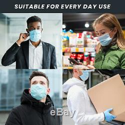 Made In USA 200 Paquet Jetable Masque 3 Plis Dentaires Masques Chirurgicaux Médicaux
