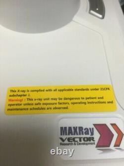 Maxray Duo Portable Dental Medical Veterinary Mobile X-ray Fda Approuvé