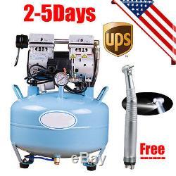 Médical Dentaire Compresseur D'air Sans Bruit Silencieux Silencieux Sans Huile Sans Huile Handpiece