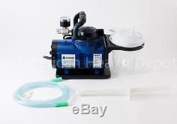 Médicale Dentaire Vétérinaire Portable Robuste Aspiration Machine À Vide Pompe D'aspiration