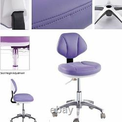 Microfiber Leather Medical Dental Chair Doctor's Stools Dentiste's Mobile Chair