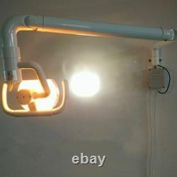 Mur Accrochant Le Montage Médical Médical Dentaire Lampe Orale Lumière Sans Ombre Avec Le Bras