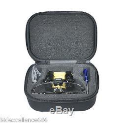 New Dental Loupes 6 Lunettes Binoculaires Médicale X300-500mm Loupe Denshine