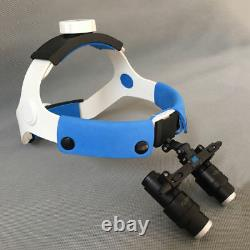 Nouveau 4x 6x Dental Surgical Medical Headband Loupes Microscope