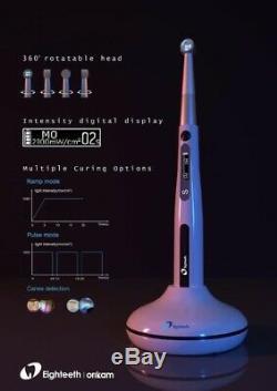 Nouveau Eigtheeth Dentaire Médicale Durcissement Pen 4 Leds Durcissement Livraison Gratuite Lumière