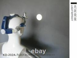 Nouveau Phare De Lampe Médicale Chirurgicale De 5w De Led Lumière De Tête Dentaire De Led Kd-202a-7 (2013)
