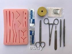 Outil Médical De Kit De Formation Chirurgicale De Peau De Suture, Étudiants Dentaires Vétérinaires